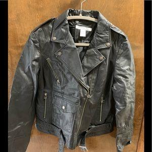 Rezrekshn leather jacket by Esther Chen